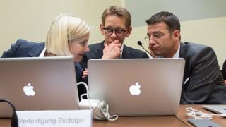 NSU Prozess, Zschäpe-Anwälte Sturm, Heer und Stahl