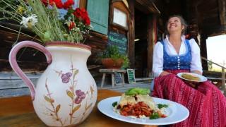 Vegetarische Berghütte im Allgäu