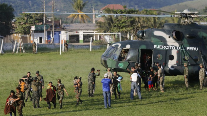 39 people rescued from Sendero Luminoso after up to 30 years in c