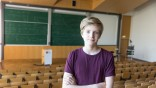 14-jähriger Student