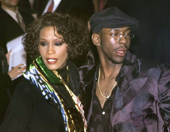 Pop-Diva Whitney Houston trennt sich von Bobby Brown