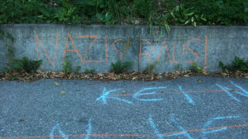 Ausländerfeindliche Schmierereien in Puchheim