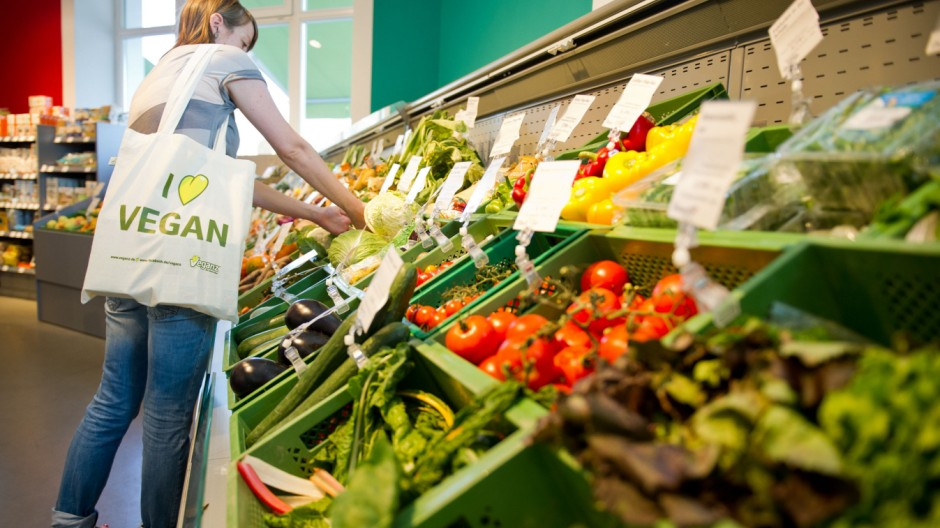 Veganer Supermarkt