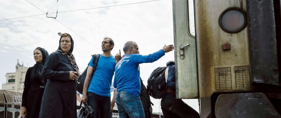 Flüchtlinge Flüchtlinge vom Balkan
