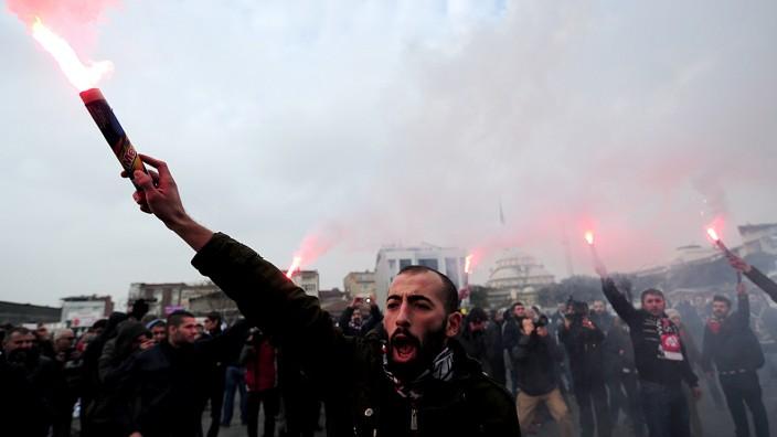 Proteste Gezi Türkei Istanbul