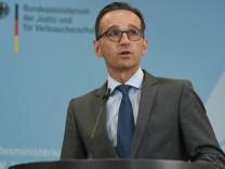 Heiko Maas gibt Statement zu 'Netzpolitik.org'