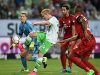 VfL Wolfsburg v FC Bayern Muenchen - DFL Supercup 2015