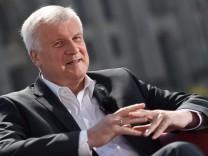 Bavaria State governor Horst Seehofer interview