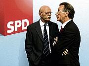 dpa, Franz Müntefering, Peter Struck, SPD, Rückzug