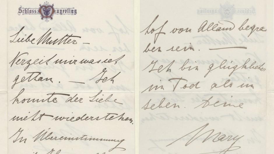 Selbstmorde Kronprinz Rudolph in Mayerling