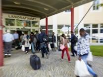 Notfallplan Asyl, Flüchtlinge Asylbewerber