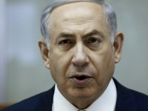 Israel's Prime Minister Netanyahu attends cabinet meeting in Jerusalem