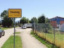 Chieming Turnhalle Flüchtlinge