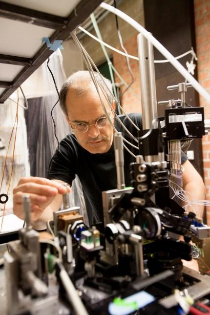 Prof. Matthias Rief, Lehrstuhl für Biophysik E22 Physikdepartment der Technischen Universität München, Garching