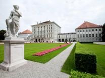 Geschichte über die Bauabteilung der Schlösserverwaltung, Schloss Nymphenburg