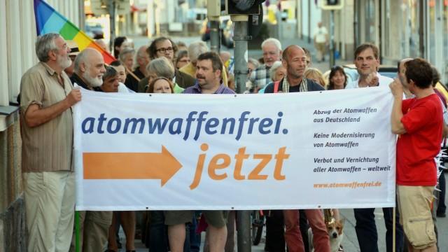 Demo gegen Atomwaffen