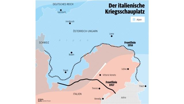 Westfront 1 Weltkrieg Karte.Italien Im 1 Weltkrieg Im Land Der Armen Teufel Politik
