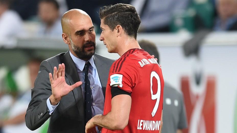 Lewandowski schwärmt von Pep Guardiola