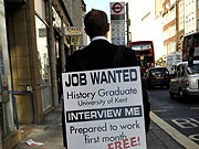 Arbeitslose Abiturienten