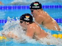 Schwimm-WM 2015 in Kasan, Russland.