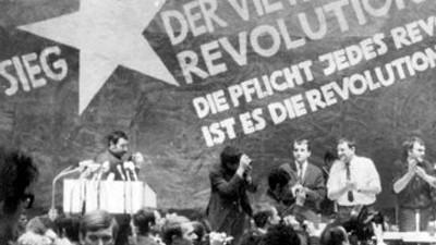 1968: Deutsche Studenten adeln Vietcong