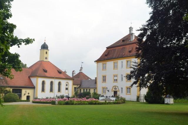 Schloss Aufhausen Schlosspark