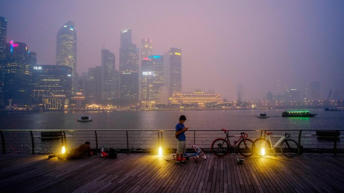 Haze in Singapur