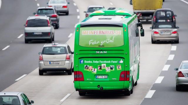 Reisebusunternehmen fordern höheres Tempolimit