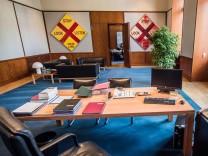 Leere Ministerbüros - Sigmar gabriel