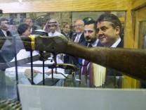Wirtschaftsminister Gabriel in Doha