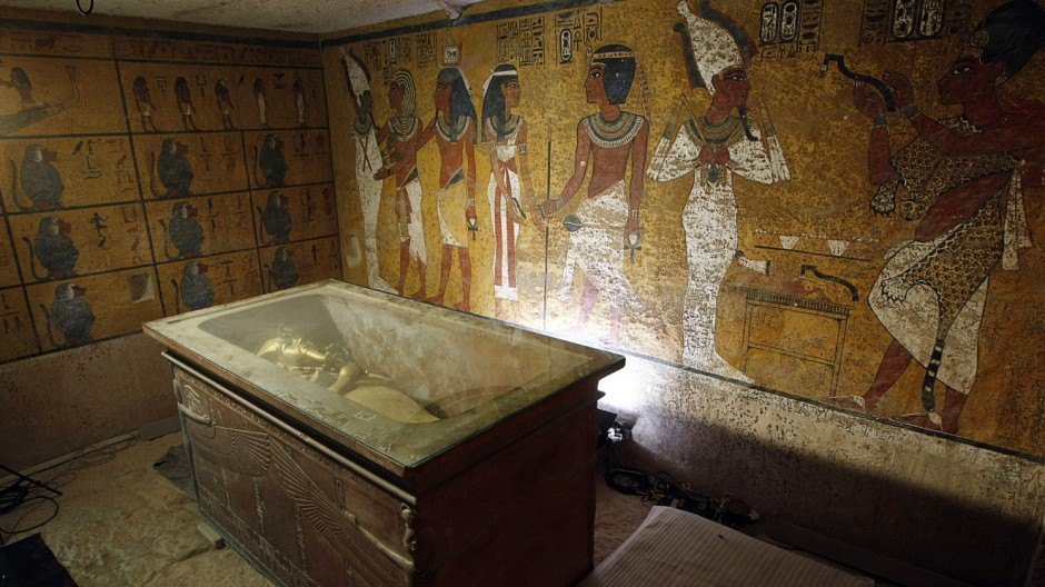 EGYPT-ARCHAEOLOGY-TUTANKHAMUN