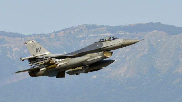 F16 Abgestürzt