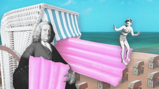 Reisepioniere Anfänge des Strandurlaubs