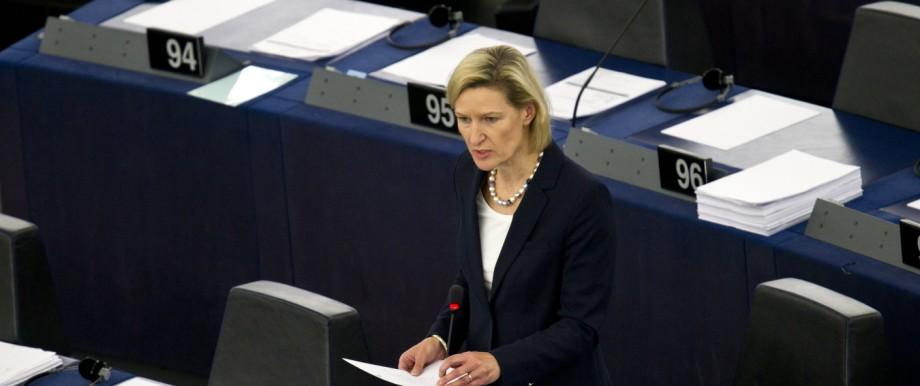 Die Europäerin: Angelika Niebler sitzt seit 1999 im EU-Parlament in Straßburg. Im Herbst soll sie CSU-Vize werden.