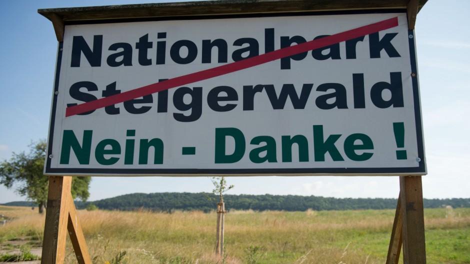 Steigerwald-Naturschutzgebiet wird aufgelöst