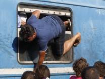 Flüchtlinge, Mazedonien, Gevgelija