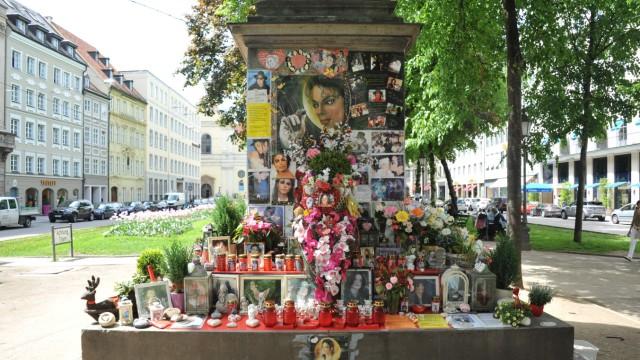 Gedenkstätte für Michael Jackson in München, 2013