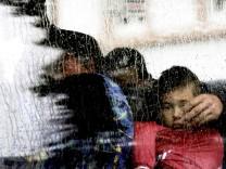 Flüchtlinge kommen in Darmstadt an