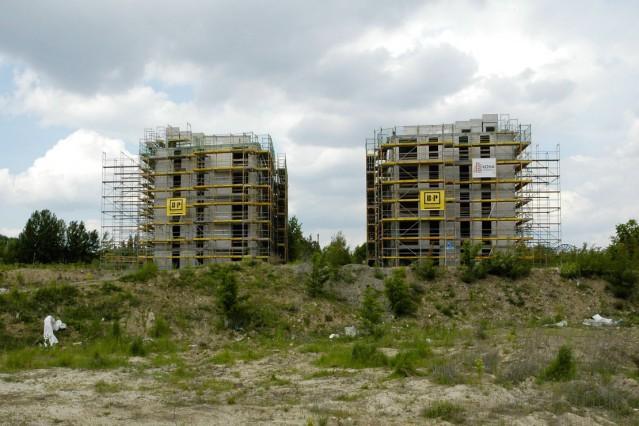 Berlin GER 21 05 2015 Baustopp auf der Großbaustelle der Genossenschaft Möckernkiez Quartier Mö