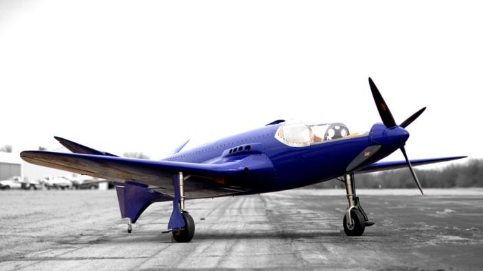 Die Replika der Bugatti 100P