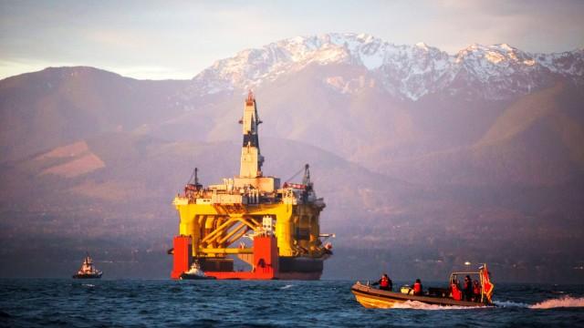 Shell Erdöl-Förderung