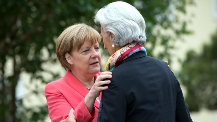G7-Gipfel 2015 - Empfang Gäste Outreach