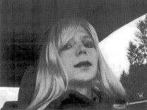 U.S. Army handout file photo shows Private First Class Manning, convicted of handing state secrets to WikiLeaks, dressed as a woman