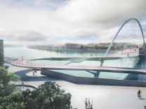 Nine Elms to Pimlico Bridge London Entwürfe Design