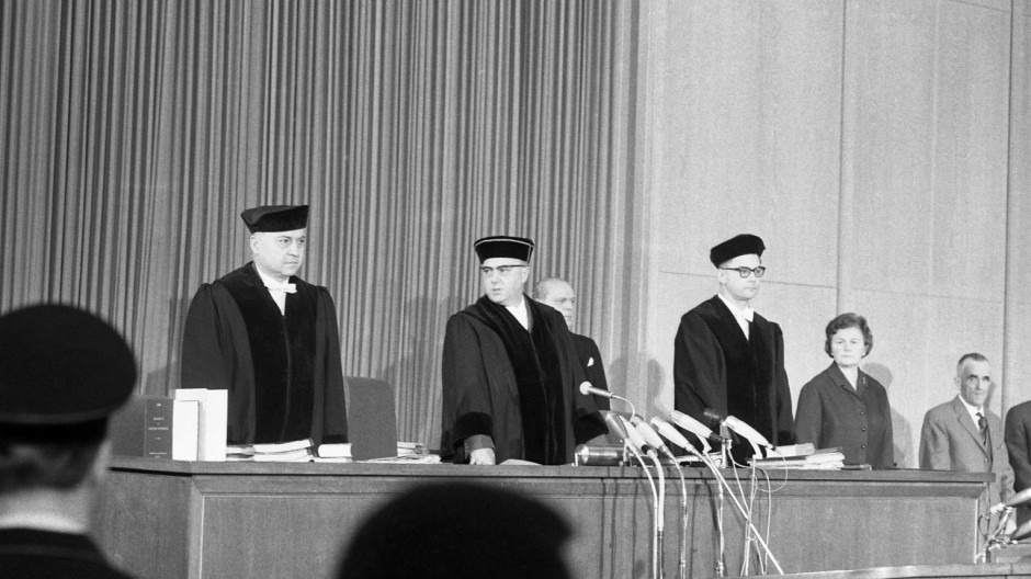 Hans Hofmeyer; Richter Hans Hofmeyer