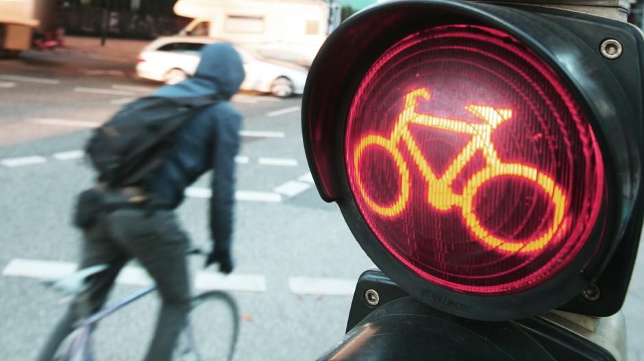 Radfahrer gegen Autofahrer:Der mühsame Weg zum Frieden; dpa_148E2400F75D4EE6