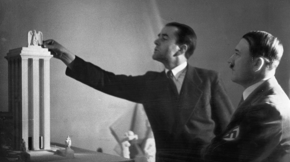 Albert Speer und Adolf Hitler, 1937