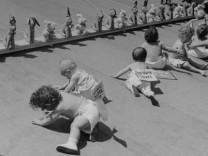 Children Babies; Cornell Capa Baby Races