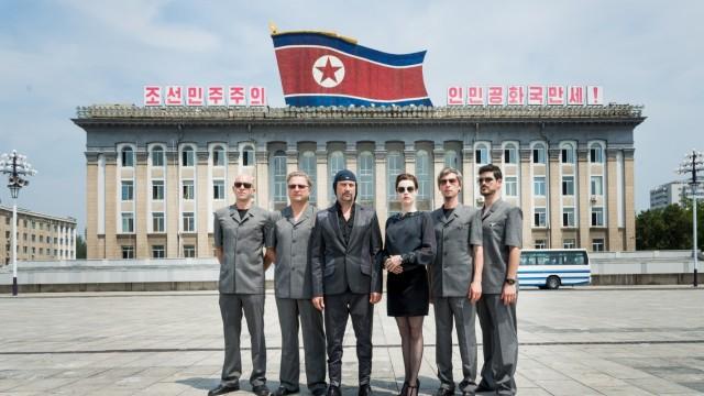 Die Seite Drei Laibach in Nordkorea