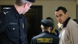 Oleg Senzow vor Gericht.